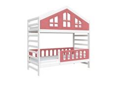 Кровать детская Domus Mia Royal Alfa (Цвет товара:Розовый)