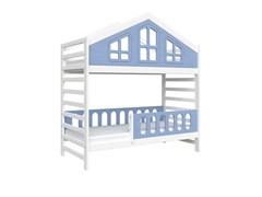 Кровать детская Domus Mia Royal Alfa (Цвет товара:Голубой)