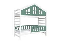 Кровать детская Domus Mia Royal Alfa (Цвет товара:Зеленый)