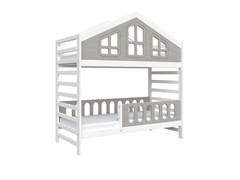 Кровать детская Domus Mia Royal Alfa (Цвет товара:Серый)