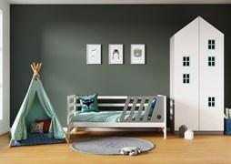 Кровать детская Domus Mia Nature Omega (Цвет товара:Серый)