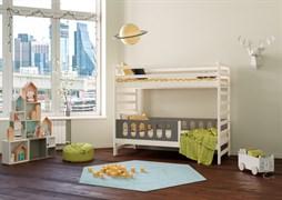 Кровать детская Domus Mia Nature Gamma (Цвет товара:Серый)