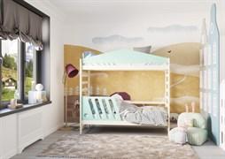 Кровать детская Domus Mia Nature Beta (Цвет товара:Зеленый)
