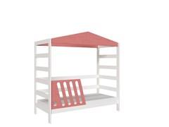 Кровать детская Domus Mia Nature Beta (Цвет товара:Розовый)