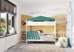Кровать детская Domus Mia Nature Alfa (Цвет товара:Зеленый)