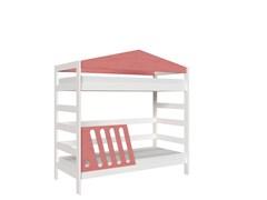 Кровать детская Domus Mia Nature Alfa (Цвет товара:Розовый)