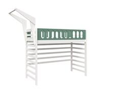 Кровать детская Domus Mia Loft Beta (Цвет товара:Зеленый)