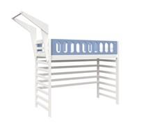 Кровать детская Domus Mia Loft Beta (Цвет товара:Голубой)