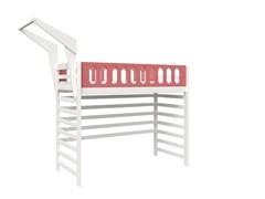 Кровать детская Domus Mia Loft Beta (Цвет товара:Розовый)