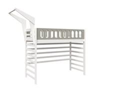 Кровать детская Domus Mia Loft Beta (Цвет товара:Серый)