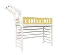 Кровать детская Domus Mia Loft Beta (Цвет товара:Желтый)