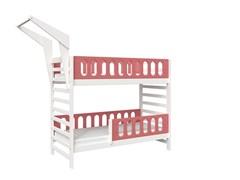 Кровать детская Domus Mia Loft Alfa (Цвет товара:Розовый)