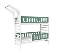 Кровать детская Domus Mia Loft Alfa (Цвет товара:Зеленый)