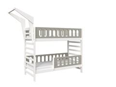 Кровать детская Domus Mia Loft Alfa (Цвет товара:Серый)