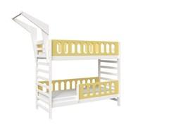 Кровать детская Domus Mia Loft Alfa (Цвет товара:Желтый)