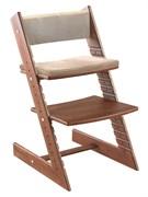 Комплект подушек для стула Конёк Горбунёк из Бука на спинку и сиденье (Сахара)