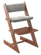 Комплект подушек для стула Конёк Горбунёк из Бука на спинку и сиденье (Кварц)