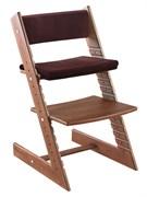 Комплект подушек для стула Конёк Горбунёк из Бука на спинку и сиденье (Гранат)