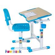 Парта для малышей и стул FunDesk Piccolino II (Голубой)