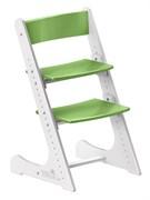 Детский растущий стул Конёк Горбунёк (Бело-зеленый)
