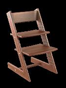 Детский растущий стул из бука Премиум Конёк Горбунёк (Темный бук)