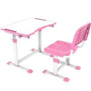 Комплект парта + стул трансформеры OLEA Cubby (Розовый)