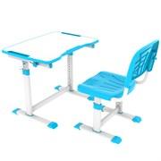 Комплект парта + стул трансформеры OLEA Cubby (Голубой)