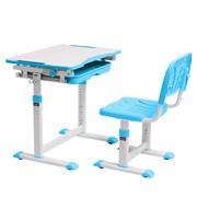 Комплект парта + стул трансформеры SORPRESA Cubby (Голубой)