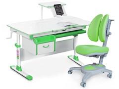 Комплект парта и кресло Mealux EVO-40 (Y-115) (Белый, Зеленый)
