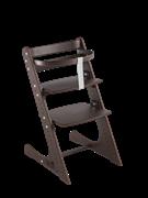Комплект растущий стул и жесткий ограничитель Конёк Горбунёк Комфорт  (Венге)
