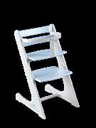 Комплект растущий стул и жесткий ограничитель Конёк Горбунёк Комфорт  (Бело-небесный)