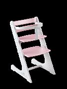 Комплект растущий стул и жесткий ограничитель Конёк Горбунёк Комфорт  (Белый-сакура)