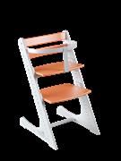 Комплект растущий стул и жесткий ограничитель Конёк Горбунёк Комфорт  (Бело-оранжевый)