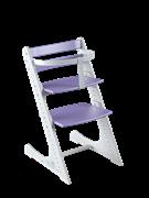 Комплект растущий стул и жесткий ограничитель Конёк Горбунёк Комфорт  (Бело-сиреневый)