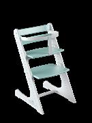 Комплект растущий стул и жесткий ограничитель Конёк Горбунёк Комфорт  (Бело-мятный)