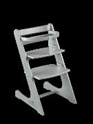 Комплект растущий стул и жесткий ограничитель Конёк Горбунёк Комфорт (Серый металлик)