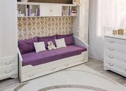 Кровать детская 38 попугаев Классика 95 (Рамух белый)