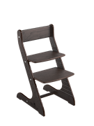 Детский растущий стул Конёк Горбунёк Стандарт  (Венге)