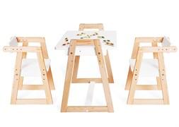 """Комплект детской мебели стол и  два стула Я САМ """"Лофт-Дуо"""" (Белый)"""