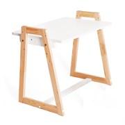 """Детский растущий стол 3в1 (стол+парта+мольберт) Я САМ """"Лофт"""" (Белый)"""