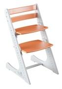 Детский растущий стул Конёк Горбунёк Комфорт ( Бело-оранжевый)