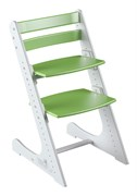 Детский растущий стул Конёк Горбунёк Комфорт (Бело-зеленый)