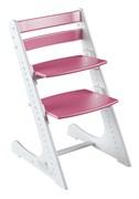 Детский растущий стул Конёк Горбунёк Комфорт (Бело-розовый)