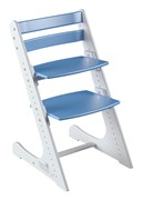 Детский растущий стул Конёк Горбунёк Комфорт (Бело-синий)