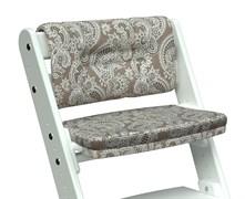 Комплект подушек для стула Конёк Горбунёк Комфорт на спинку и сиденье (Арабика)