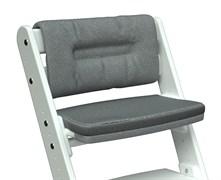 Комплект подушек для стула Конёк Горбунёк Комфорт на спинку и сиденье (Графит)