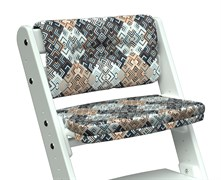 Комплект подушек для стула Конёк Горбунёк Комфорт на спинку и сиденье (Лабиринт)