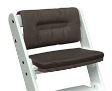 Комплект подушек для стула Конёк Горбунёк Комфорт на спинку и сиденье (Шоколад)