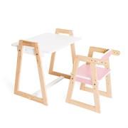 """Детская растущая парта и стул Я САМ """"Краски"""" (Розовый)"""
