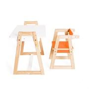 """Детская растущая парта и стул Я САМ """"Краски"""" (Оранжевый)"""